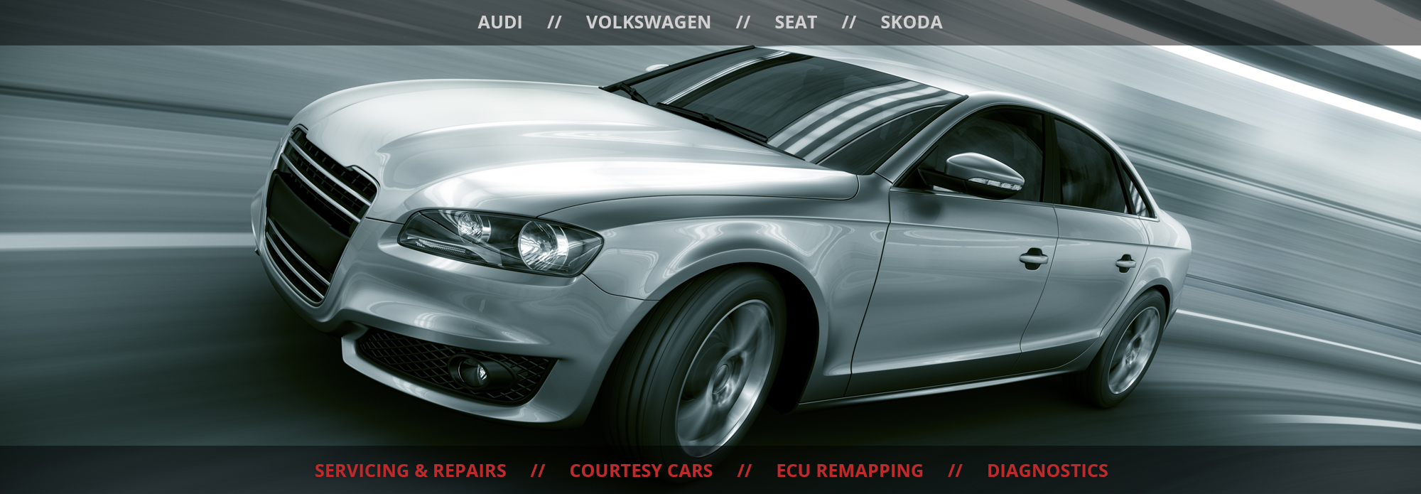 Audi VW Repair Specialist Glasgow Home
