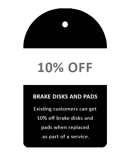 Audi VW Repair Specialist Glasgow Special Offers 10% off Brake Disks and Pads Glasgow