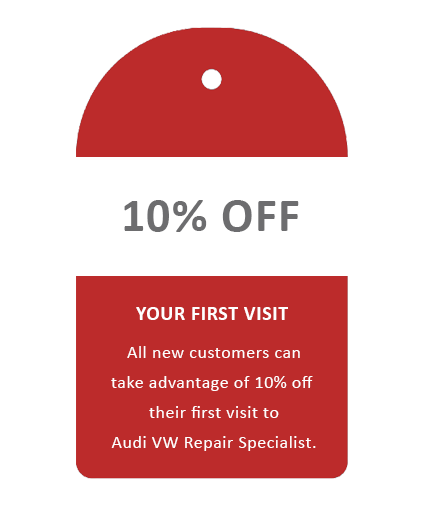 Audi VW Repair Specialist Glasgow Special Offers 10% off New Customers Glasgow.